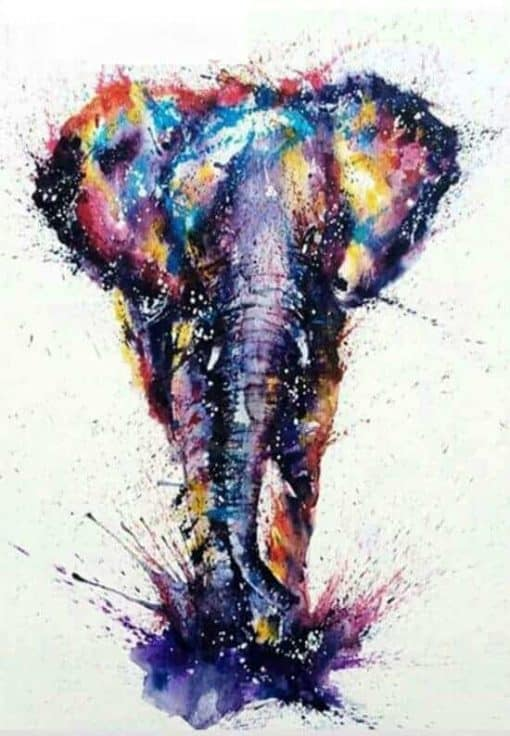 olifant diamond painting