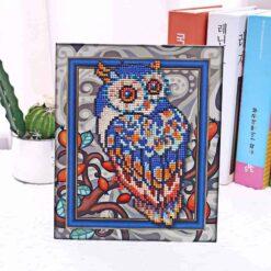 Diamond Painting Pakket voor kinderen - Uil - 21x25 cm - SEOS Shop ®