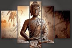 Diamond Painting Pakket Buddha - 5 Luik - Volledig - Full - SEOS Shop ®