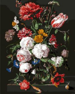 bloemen in vaas diamond painting