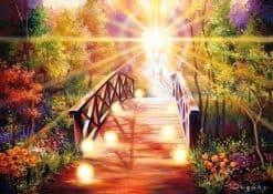 Engel op brug