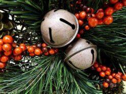Kerst bellen in kerstboom