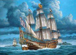Schip op het water