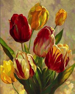 Tulpen bos