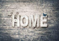 Vlinder Home Sweet Home