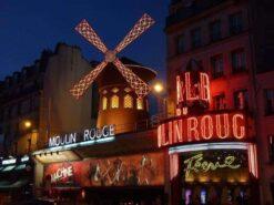 Windmolen in parijs