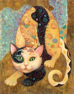 Artistieke kat