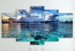 Blauwe zee 5 luik