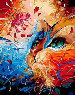 Gekleurde kat