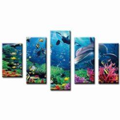 Mooie zeedieren 5 luik