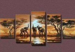 Olifanten op safari