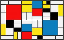 Piet Mondriaan Schilderij