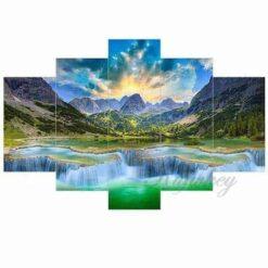 Prachtige bergen 5 luik