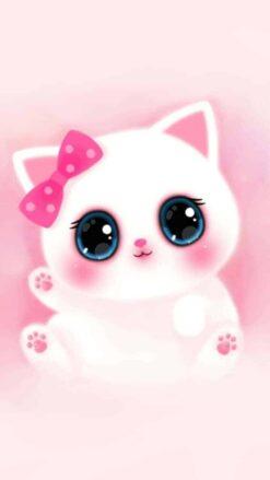 Schattige roze Kitten