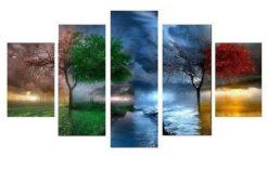 Verschillende seizoenen 5 luik