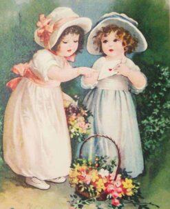 Bloemen meisjes