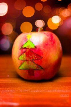 kerst appel boom