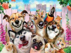 Dieren vrienden - Dieren Diamond Painting